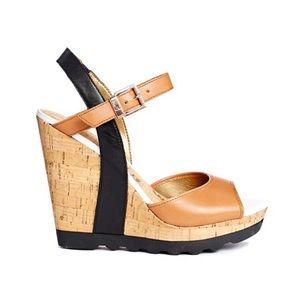 Sam Edelman Karina wedge sandals 8.5